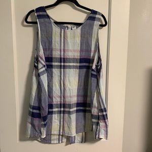 Old navy sleeveless blouse